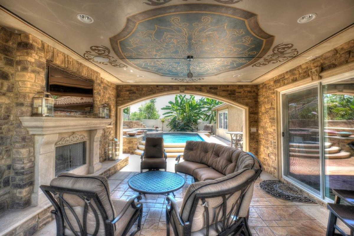 Old World Tuscany Style Sunset Outdoor Creations